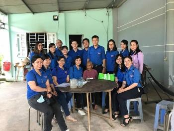 Chi đoàn Liên hiệp các tổ chức hữu nghị TP.HCM thăm và tặng quà các mẹ Việt Nam anh hùng