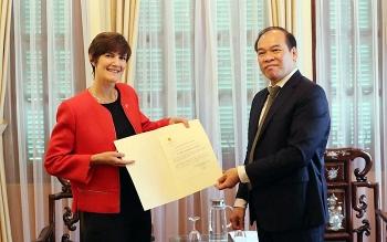 Tân Tổng Lãnh sự Anh tại TP.HCM mong muốn thúc đẩy hợp tác thương mại, đổi mới công nghệ Việt Nam – Vương quốc Anh