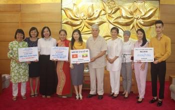 Hội hữu nghị Việt Nam - Myanmar kêu gọi hàng trăm triệu đồng và khẩu trang ủng hộ nhân dân Myanmar chống dịch COVID-19