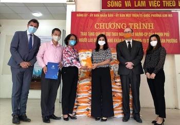 Đại sứ quán Bulgaria tại Việt Nam chung tay hỗ trợ phòng, chống dịch COVID-19 tại Hà Nội