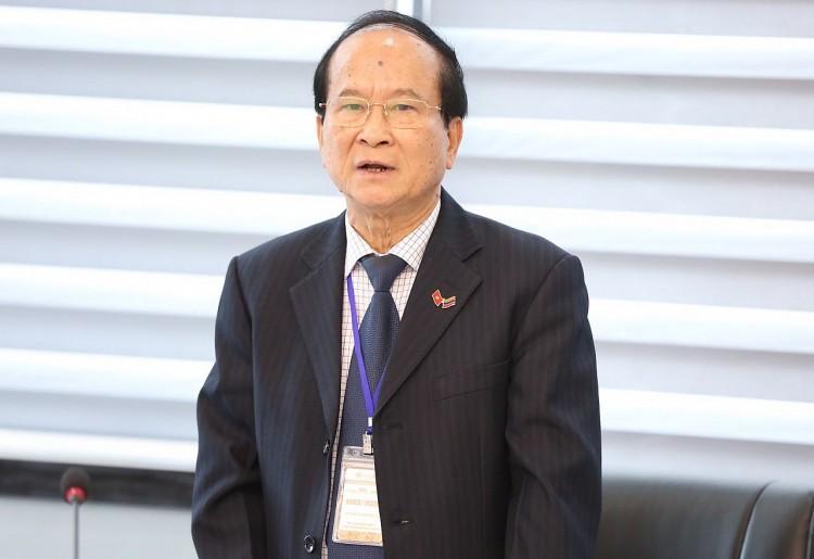 Ông Nguyễn Văn Thuận, nguyên Ủy viên Trung ương Đảng, nguyên Bí thư Thành ủy thành phố Hải Phòng, Chủ tịch Hội Hữu nghị Việt Nam – Ác-mê-ni-a. (Ảnh: TV)