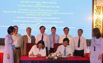 Quảng Trị là một điểm sáng về thu hút, vận động nguồn vốn viện trợ PCPNN của cả nước