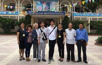 Ba người bạn Nhật Bản nặng lòng với Việt Nam