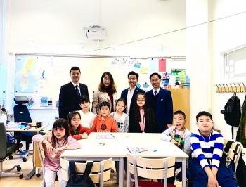 Đại sứ quán Việt Nam tại Thụy Điển khuyến khích việc học và dạy tiếng Việt tại thành phố Eskilstuna
