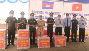 An Giang tăng cường hợp tác, hỗ trợ phòng chống dịch COVID-19 với các địa phương Campuchia