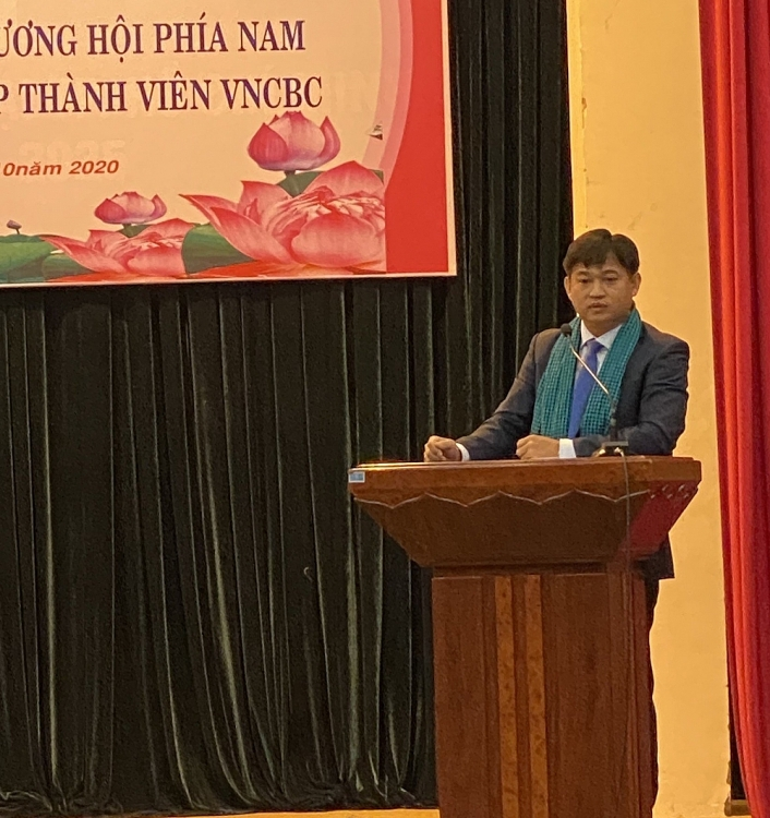 Ngài Sok Dareth - Tổng lãnh sự Campuchia tại TP.HCM.