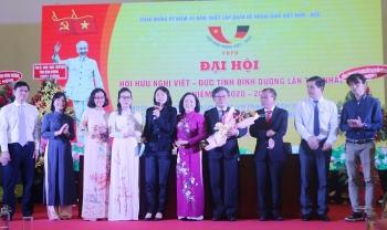 Ông Hà Thúc Viên được bầu là Chủ tịch Hội hữu nghị Việt-Đức tỉnh Bình Dương