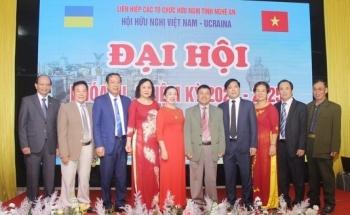 4 cá nhân, tập thể nhận bằng khen tại Đại hội Hội Hữu nghị Việt Nam - Ukraina tỉnh Nghệ An lần thứ III