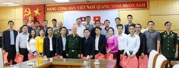 Bắc Giang: Sinh viên Lào tham quan mô hình sản xuất nông nghiệp công nghệ cao