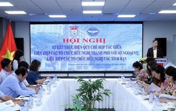 HUFO tăng cường chia sẻ, trao đổi kinh nghiệm trong công tác đối ngoại nhân dân