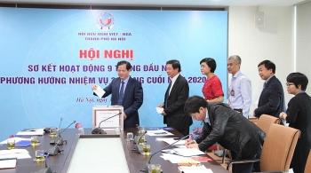 Hội Hữu nghị Việt-Nga thành phố Hà Nội ủng hộ đồng bào miền Trung 20 triệu đồng