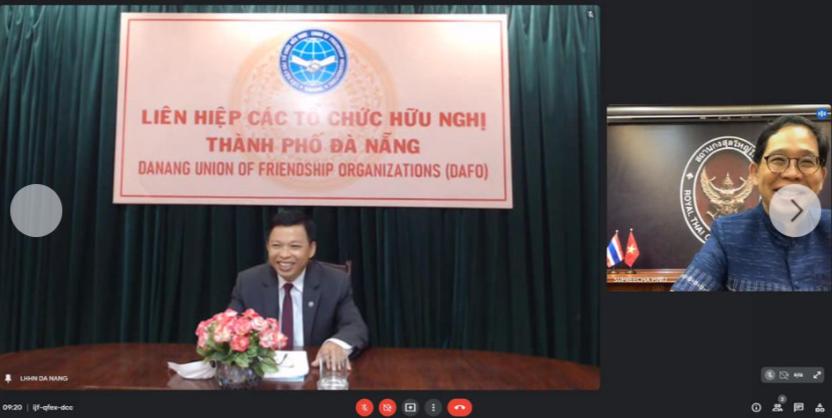 DAFO, TLSQ Vương quốc Thái Lan tại TP. HCM trao đổi thông tin về Hội thảo quốc tế