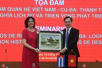 """Toạ đàm """"60 năm quan hệ Việt Nam – Cuba: Thành tựu, ý nghĩa lịch sử và triển vọng phát triển"""""""