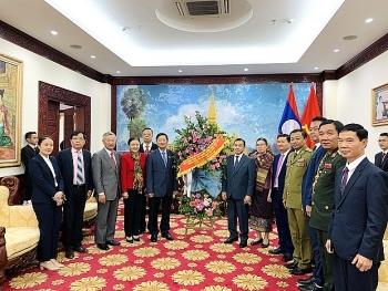 VUFO, Hội hữu nghị Việt – Lào sẽ cùng Đại sứ quán Lào xây đắp tình hữu nghị, đoàn kết đặc biệt