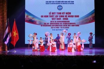 Video: Mít tinh kỷ niệm 60 năm thiết lập quan hệ ngoại giao Việt Nam - Cuba