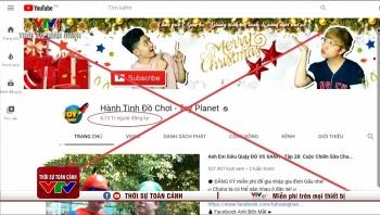 Bộ TT&TT công bố 4 kênh Youtube có nội dung nhảm nhí, cờ bạc, bạo lực đã bị Google gỡ bỏ