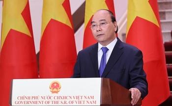 Thủ tướng Nguyễn Xuân Phúc tham dự Hội nghị ACMECS 9, CLMV 10 và CLV 11