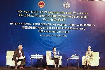 Hội nghị quốc tế về Phụ nữ, hòa bình và an ninh - Phiên toàn thể 3