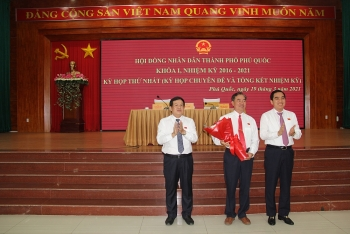 Ông Đoàn Văn Tiến được bầu giữ chức vụ Phó Chủ tịch UBND TP Phú Quốc