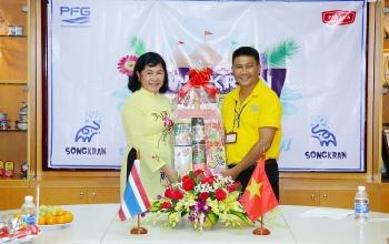 Liên hiệp Cần Thơ: Thăm và chúc mừng năm mới doanh nghiệp Thái Lan nhân dịp Tết Songkran