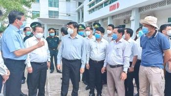 Bộ trưởng Bộ Y tế kiểm tra công tác phòng, chống Covid-19 khu vực biên giới Tây Nam