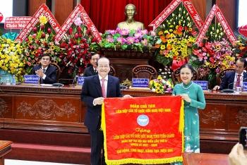Ông Nguyễn Văn Mười - Phó Chủ tịch UBND tỉnh được bầu kiêm nhiệm giữ chức Chủ tịch Liên hiệp Tiền Giang