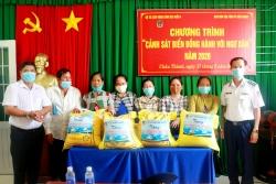 Kiên Giang: Cảnh sát biển đồng hành với ngư dân