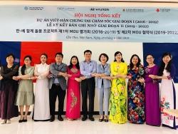Dự án Việt - Hàn: Chăm sóc gia đình đa văn hóa của hai nước