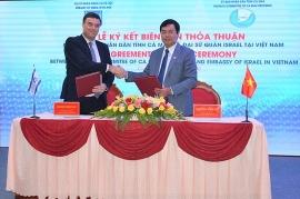 Israel ký kết thoả thuận hợp tác thương mại và công nghệ với tỉnh Cà Mau