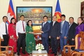 """Cần Thơ vun đắp tình đoàn kết Việt Nam - Campuchia từ """"Ươm mầm hữu nghị"""""""