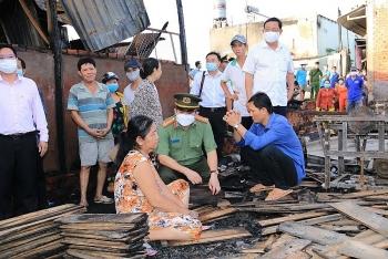 An Giang: Hỗ trợ 40 triệu đồng cho các hộ gia đình bị hỏa hoạn