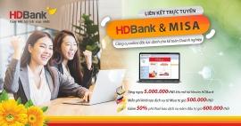 HDBank và MISA kết hợp triển khai dịch vụ ngân hàng số trên phần mềm kế toán