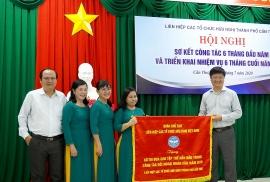 Liên hiệp các tổ chức hữu nghị thành phố Cần Thơ được VUFO tặng cờ thi đua