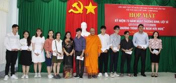 Hội hữu nghị Việt Nam - Campuchia TP Cần Thơ: họp mặt kỷ niệm 73 năm Ngày thương binh Liệt sĩ