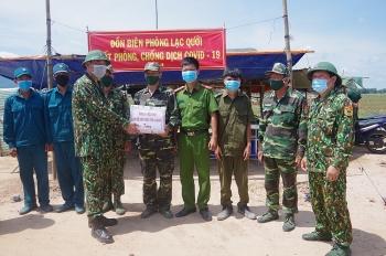 Bộ Tư lệnh Bộ đội Biên phòng kiểm tra công tác phòng, chống dịch Covid-19 tại An Giang
