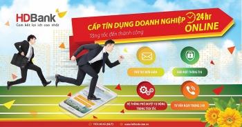 Cấp tín dụng doanh nghiệp online 24/7 tại HDBank
