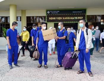 Cà Mau chi viện nhân lực y tế cho TP HCM phòng dịch Covid-19