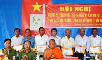 Bạc Liêu: Người có uy tín trong đồng bào Khmer chung tay giữ gìn bình yên phum sóc