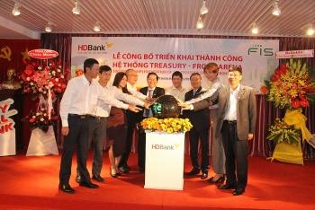 HDBank triển khai thành công dự án Treasury - FIS Front Arena