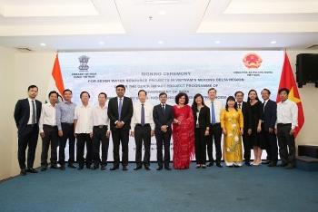 Ấn Độ tài trợ 7 dự án từ Quỹ tác động nhanh QIP cho 4 tỉnh ĐBSCL