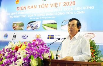 Mô hình lúa tôm tại Đồng bằng sông Cửu Long hiệu quả phát triển kinh tế, thích ứng biến đổi khí hậu