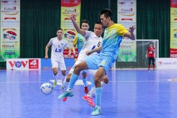Thắng 9-1 trước Sanvinest Sanna Khánh Hòa, Thái Sơn Nam bảo vệ thành công chức vô địch