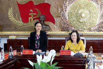 Chủ tịch VUFO Nguyễn Phương Nga làm việc với Bạc Liêu về công tác đối ngoại nhân dân