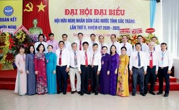 Ông Trần Phước Vĩnh được bầu giữ chức Chủ tịch Liên hiệp các tổ chức hữu nghị tỉnh Sóc Trăng
