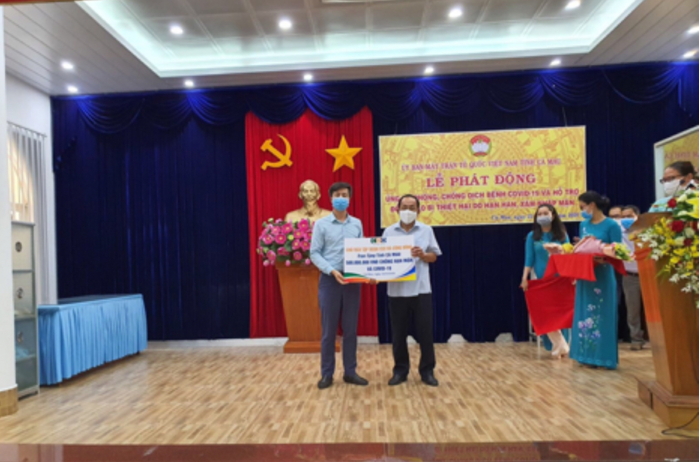 tap doan ceo ung ho 2 ty dong cung tp ha noi chong dich covid 19