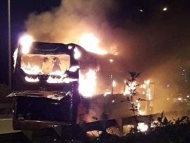 Cục Đăng kiểm khuyến cáo khi xe máy, ô tô bốc cháy