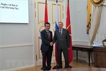 Thống đốc St. Petersburg đề xuất nhiều hoạt động thúc đẩy hợp tác với Việt Nam