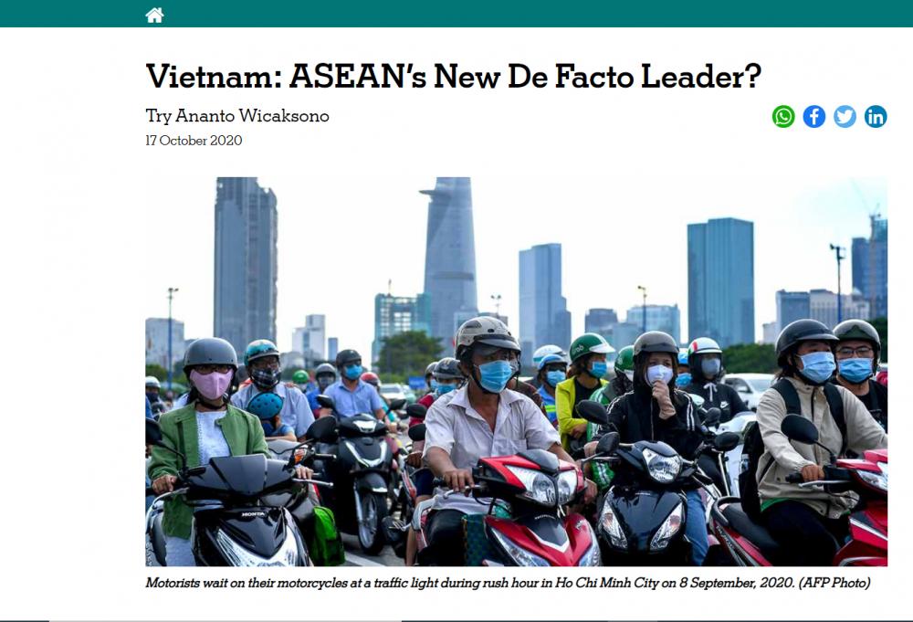 The ASEAN Post đánh giá cao vai trò của Việt Nam trên cương vị Chủ tịch ASEAN 2020