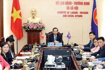 Việt Nam tham dự trực tuyến Hội nghị Bộ trưởng Lao động ASEAN và ASEAN+3