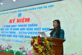 Liên hiệp các tổ chức hữu nghị Hà Nội tiếp tục phát huy thế mạnh đối ngoại nhân dân